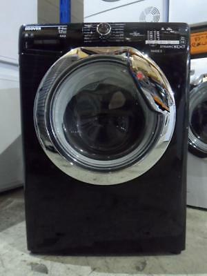 Hoover WDXOC68CB Black Washer Dryer 8kg Wash 6kg Dry 1600 Spin One-Touch NFC PWD