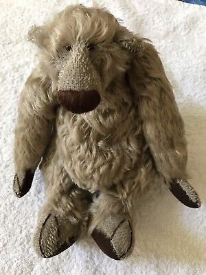 Something's Bruin One of A Kind Greyish 8 Inch Bears VGC