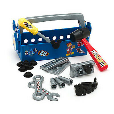 New Official Disney Mickey & The Roadster Racers Pit Crew Toolbox
