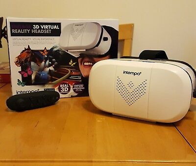 Virtual Reality (VR) headset and Bluetooth games controller