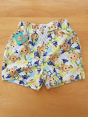Baby Boys Finding Nemo Swimming Shorts