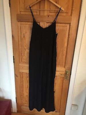 Urban Outfitters Black Flared Jumpsuit