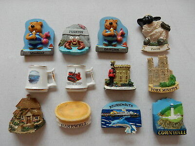 One Selected 3D Souvenir Fridge Magnet Selected Location in the UK
