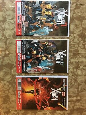 All New X-Men Issues 1-3