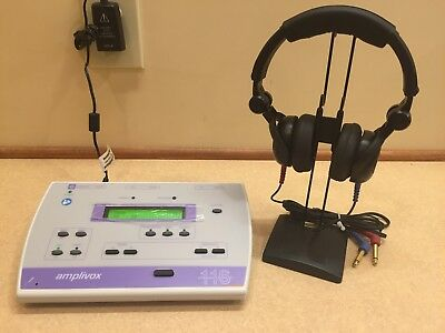 New Amplivox 116 w/ Battery Operation Upgrade Portable Audiometer