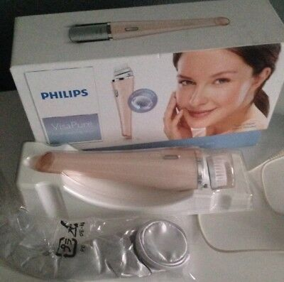 Philips Visapure Facial Cleansing Brush PINK.only Used A Few Times Great Vvgc