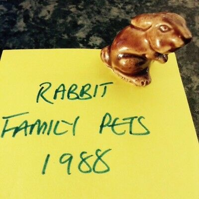 Wade whimsie - Rabbit, Family Pets 1988