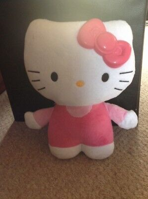 hello kitty night light teddy with glowing bow