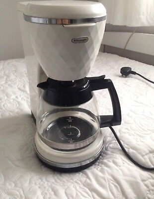 DeLonghi Brilliante Filter Coffee Maker Brand New Matches Kettle Toaster