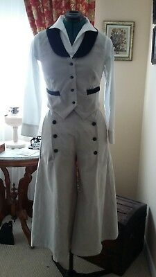 SASS Western Riding Vest and Split Skirt Bust 36/Waist 30  Gently Used