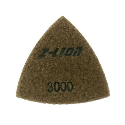 Triangular Diamond Polishing Pads 80mm/ 93mm Granite Stone Concrete Marble