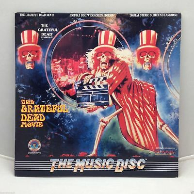 The Greatful Dead Movie Laser Disc