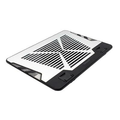 """Laptop LED Cooling Cooler Pad Stand USB Powered 2 Fans for 12""""-17"""" Notebook"""