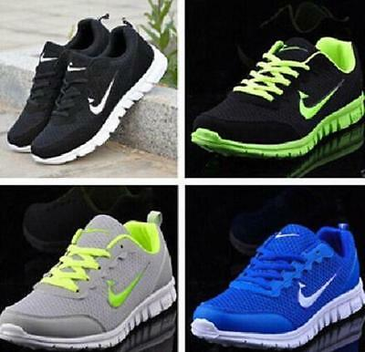 New MEN'S AND BOYS, SPORTS TRAINERS RUNNING GYM SIZES UK3-UK11.5