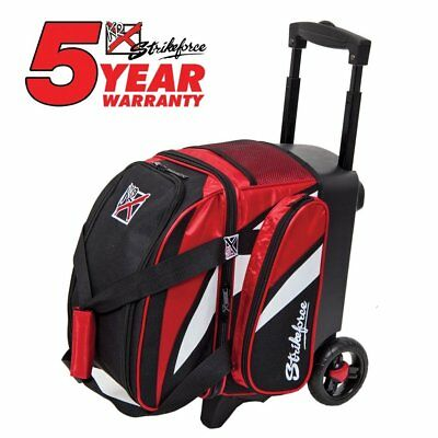 KR Cruiser Single Roller Bowling Bag Red/Black/White