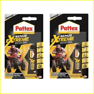 Henkel Pattex Multi Purpose Transparent Repair EXTREME Glue 8g (2-pack)