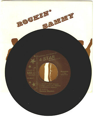 Sammy Masters,Rockin' Sammy-PS Rockabilly EP USA 4 STar Label For Your Jukebox