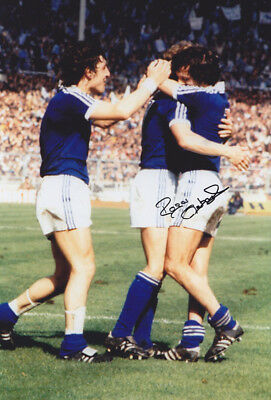 *REDUCED PRICE* HAND SIGNED 12x8 PHOTO IPSWICH TOWN 1978 ROGER OSBORNE
