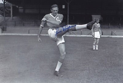 *REDUCED PRICE* HAND SIGNED 12x8 PHOTO LIVERPOOL 1959 LOUIS BIMPSON