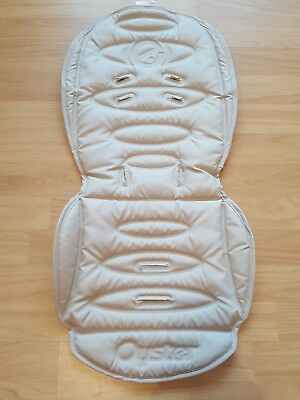 Babystyle Oyster Seat Liner pad cushion beige sand