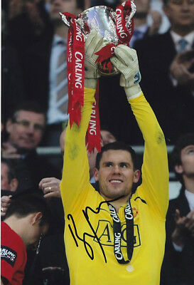*REDUCED PRICE* HAND SIGNED 12x8 PHOTO MAN UNITED 2009 BEN FOSTER