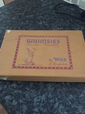 Wade Whimsie, box from English Whimsie (BOX ONLY), great addition for collectors