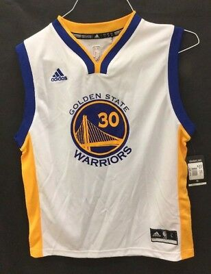 NWD Adidas Youth Golden State Warriors Curry Jersey Sz: Youth L (BS)