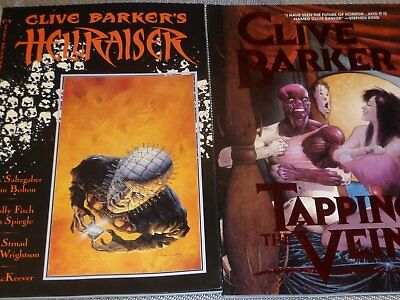 Clibe Barker's Hellraiser & Tapping the Vein
