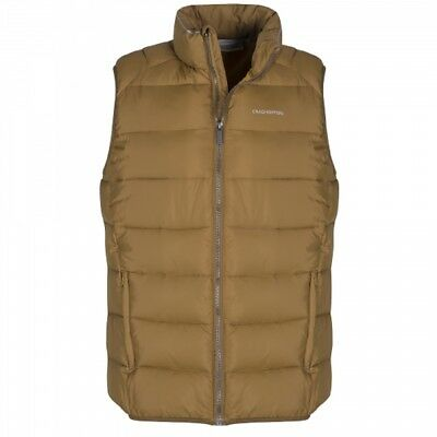 Craghoppers Bennett Mens Lightweight Insulting Synthetic Fill Gilet Olive