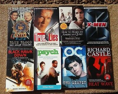 Lot of 10 Movie or TV Show Tie-In Paperback Books
