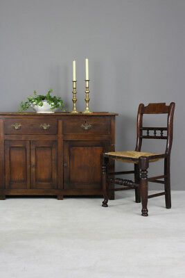Antique Georgian Style Country Kitchen Rustic Oak & Elm Dresser Base