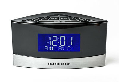 New Sound Soother White Noise Machine Alarm Clock Radio Sharper
