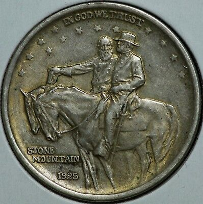 1925 Stone Mountain Half Dollar 50C Commemorative Coin