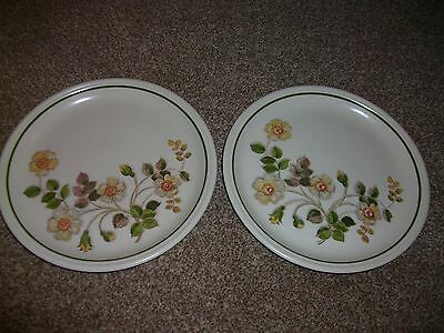 Marks & Spencer Autumn Leaves Salad / Dessert Plates x 2