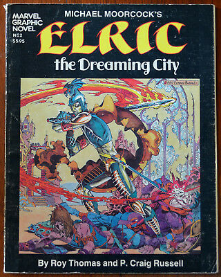 Michael Moorcock's Elric The Dreaming City Marvel Graphic Novel