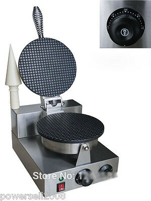 New Easy Operation Adjustable Thermostat Commercial Waffle Makers Machine