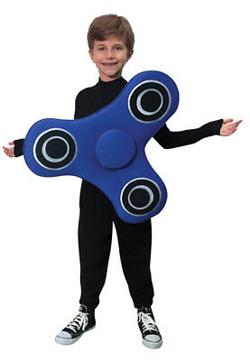 Adult and Child Spinner Blue Costume
