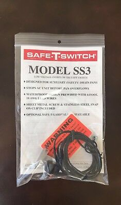 Safe-T-Switch Model SS3 Low Voltage Condensate Overflow Shut-Off Switch