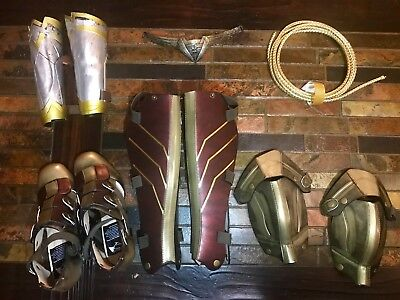 Brand New Wonder Woman Costume Accessories, Never Worn.