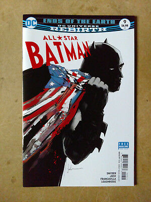 All Star Batman #9 First Print Dc Comics (2017) Ends Of The Earth