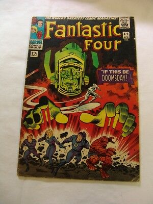 Fantastic Four #49 1st GALACTUS 2nd SILVER SURFER