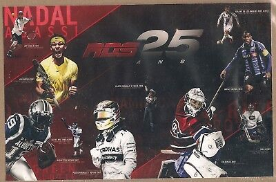 """RDS Promotional Puzzle """"RDS 25 Ans"""" Roy/Price Agassi/Nadal ++ Assembled - New"""