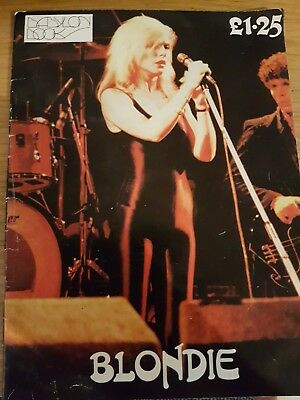 BLONDIE ~ Babylon Book 56 pages c.1979 Great photos and press reviews/text