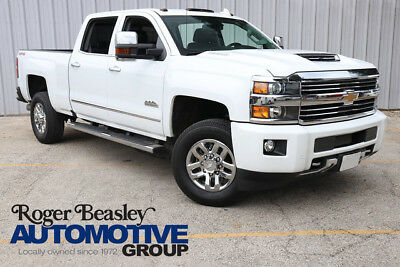 2017 Chevrolet Silverado 3500 High Country Crew Cab Pickup 4-Door 2017 CHEVY SILVERADO 3500HD LEATHER NAV REAR CAM SUNROOF