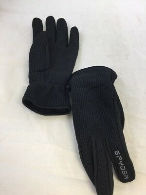 Used Spyder Mens Core Sweater Conduct Gloves Black Sz: L/XL (BS)