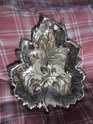 Silver Plated Strawberry Dish
