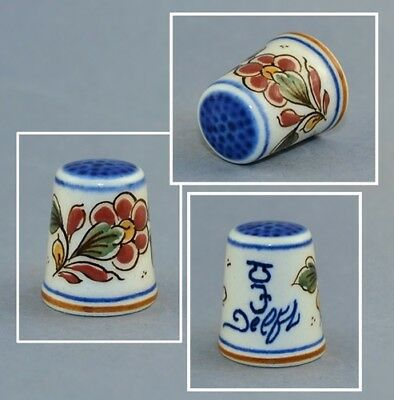 Delft Hand Painted Thimble