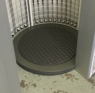 Circular Round Sunbed Floor Mat for Vertical Tanning Units - NEW - Grey