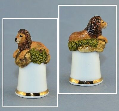 Sterling Classic Tcc Thimble - Lion