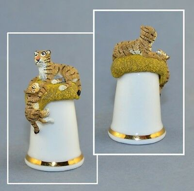 Sterling Classic Tcc Thimble - Tigers